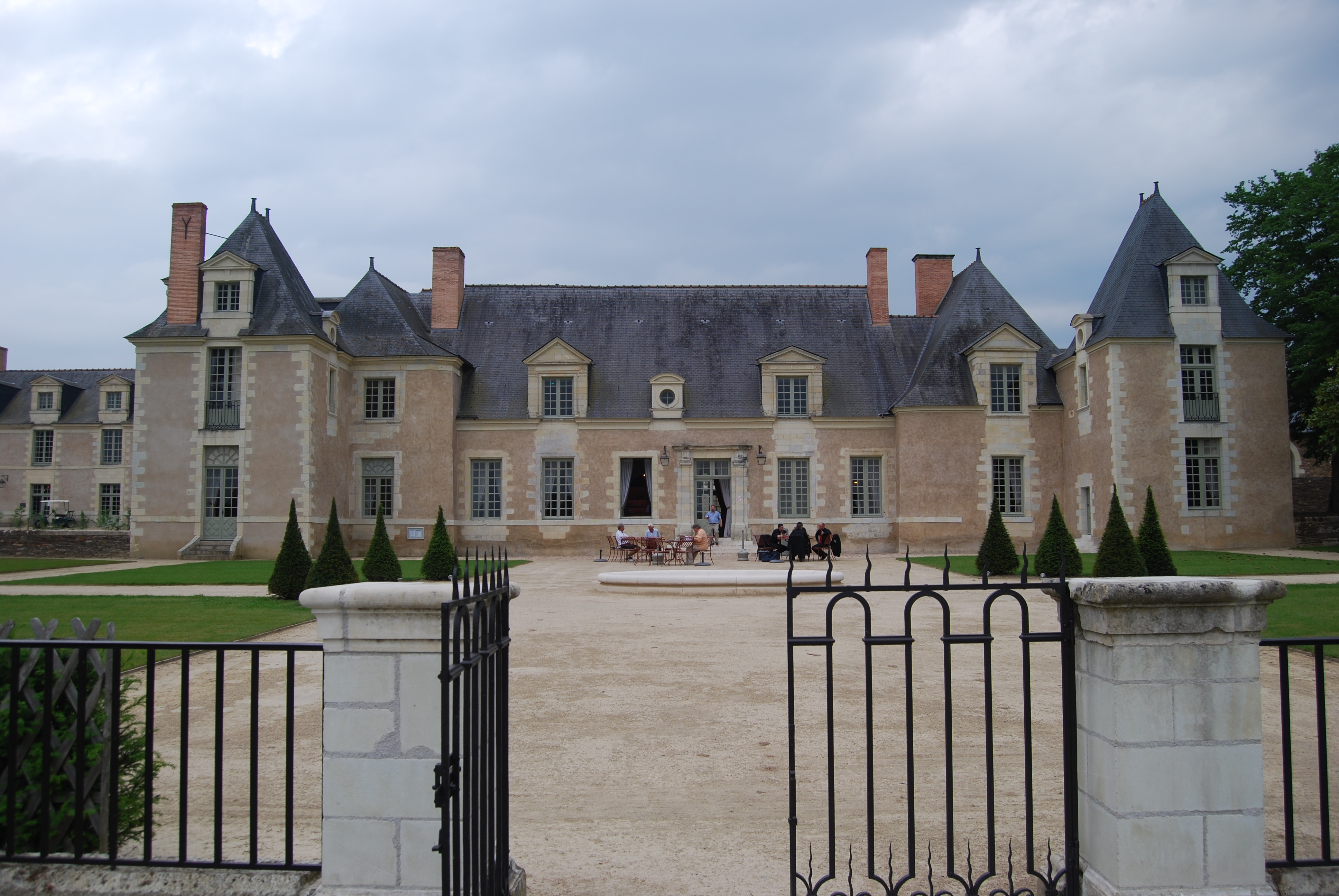 The Chateau de la Perriere, where the Giffard competition was held.