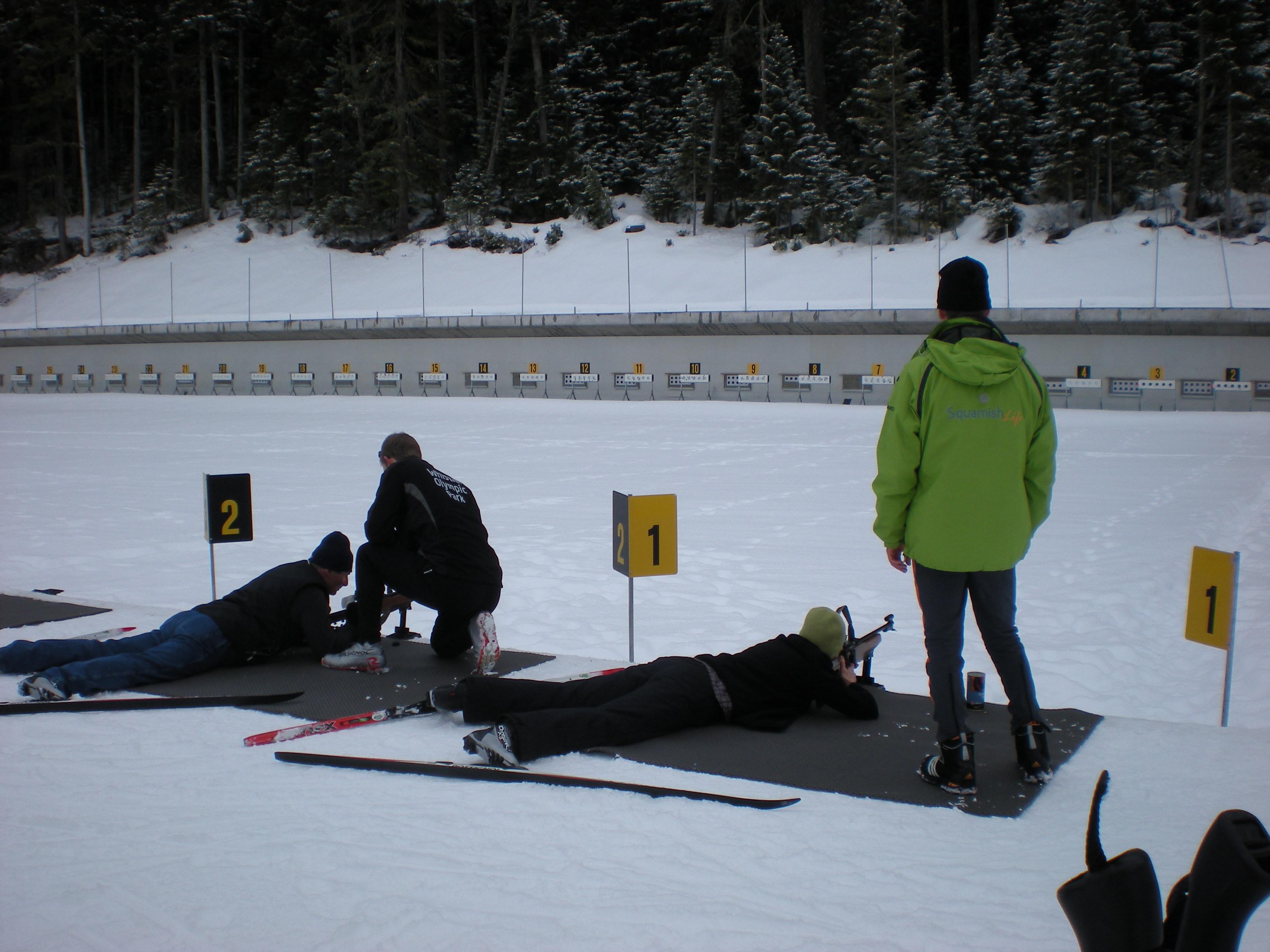 We take aim at the Whistler Biathlon Centre