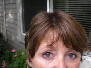 Speaking of changes . . . check out the new do.